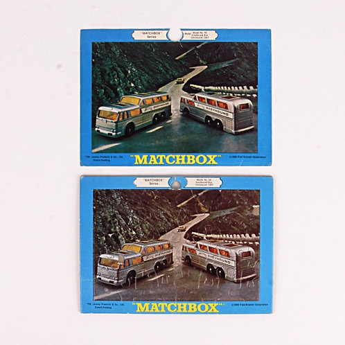 Greyhound Bus #66 - Vintage 1969 Frame Tray Puzzle - Matchbox