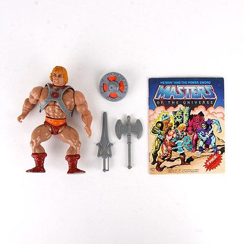 He-Man - Vintage 1982 Masters of the Universe - Action Figure - Mattel