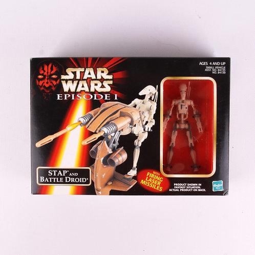 STAP & Battle Droid - Prototype 98 Star Wars The Phantom Menace - Action Figure