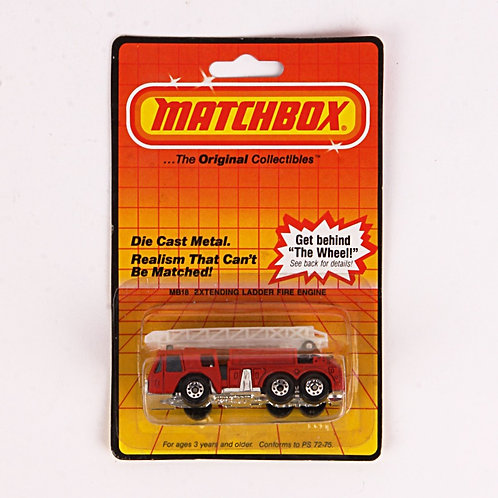 Extending Ladder Fire Engine #18 Vintage 1983 Matchbox / Lesney Die Cast Vehicle