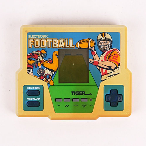 Football - Vintage 1987 Electronic Handheld Sports Game - Tiger