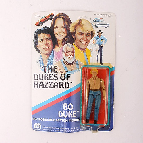Bo Duke - Vintage 1981 The Dukes of Hazzard - Mego Action Figure