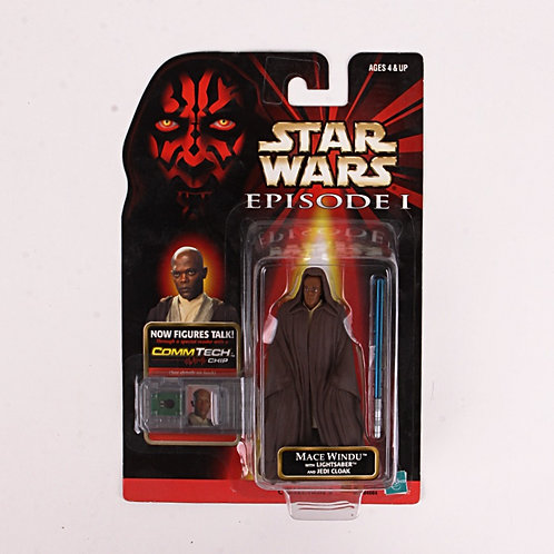 Mace Windu - Classic 1998 Star Wars The Phantom Menace - Action Figure