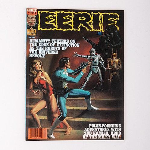 Eerie Magazine - Vintage Feb 1981 #119 - Robots of the Universe Revolt