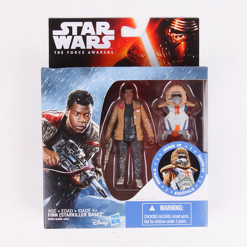 Finn (Starkiller Base) - Modern 2015 Star Wars The Force Awakens - Action Figure