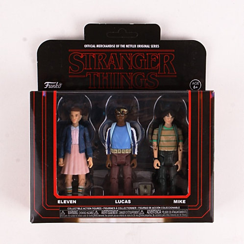 Eleven & Lucas & Mike - Modern  2018 Stranger Things - Funko Action Figure