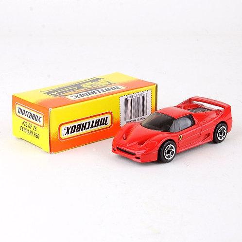 Ferrari F50 #75 - Classic 1996 Die Cast Vehicle - Matchbox