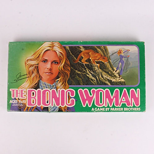The Bionic Woman - Vintage 1976 Board Game - Parker Brothers