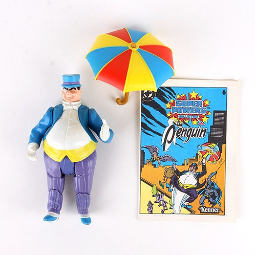 Penguin - Vintage 1984 Super Powers DC Comics - Action Figure - Kenner