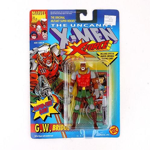 G.W. Bridge - 1992 Marvel The Uncanny X-Men X-Force Action Figure - Toy Biz