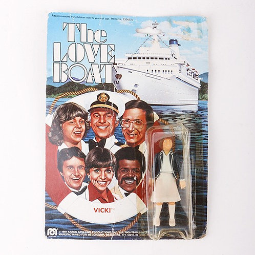 Vicki - Vintage 1981 The Love Boat - Action Figure - Mego
