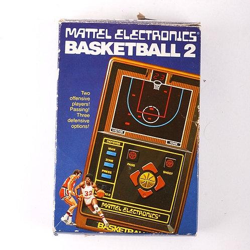 Basketball 2 - Vintage 1979 Electronic Sports Game - Mattel