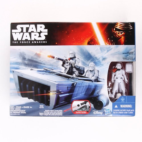 Snowspeeder & Snowtrooper - Modern 2015 Star Wars The Force Awakens - Hasbro