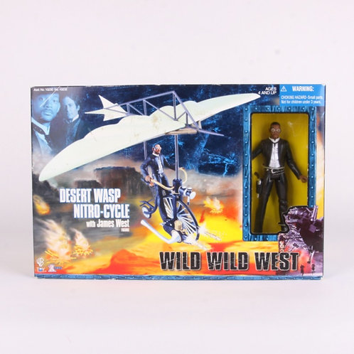 Desert Wasp Nitro-Cycle & James West - 1999 - Wild Wild West - Action Figure
