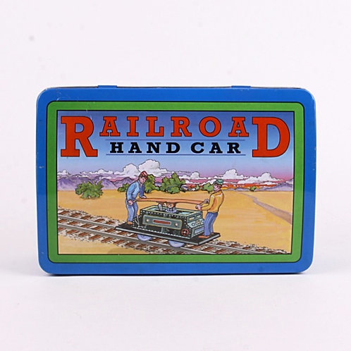 Railroad Hand Car - Classic 1999 Windup Tin Toy - Schylling