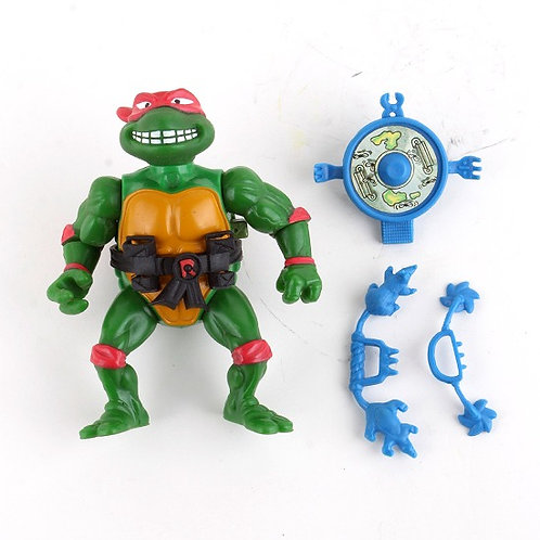 Breakfightin' Raphael - Vintage 1989 Teenage Mutant Ninja Turtles - Playmate