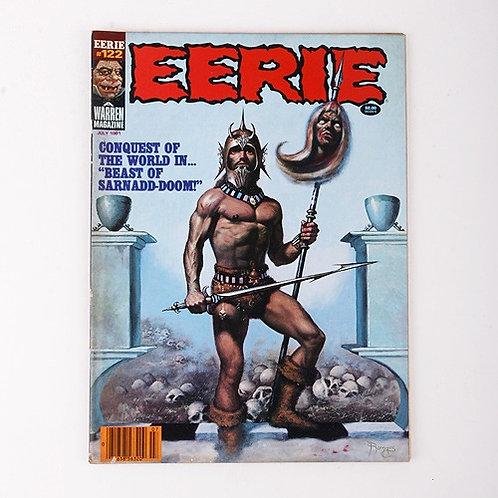 Eerie Magazine - Vintage July 1981 #122 - Beast of Sarnadd-Doom