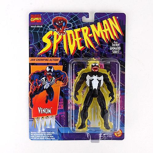 Venom - Classic 1994 Spiderman Animated Series Marvel Action Figure - Toy Biz