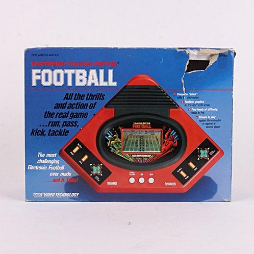 Football - Vintage 1986 Electronic Talking Handheld Sports Game - Vtech