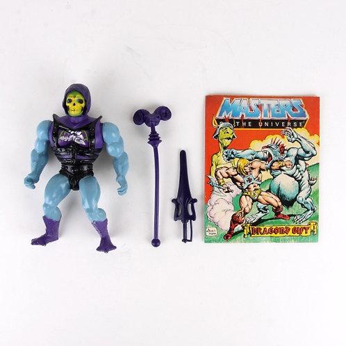 Battle Armor Skeletor - Vintage 1984 MOTU - Action Figure - Mattel