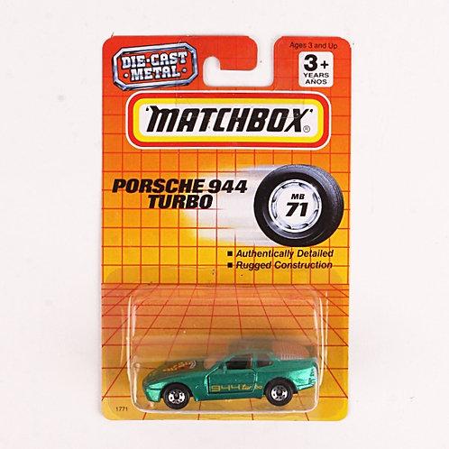Porsche 944 Turbo #71 - Classic 1993 Matchbox - Die Cast Vehicle