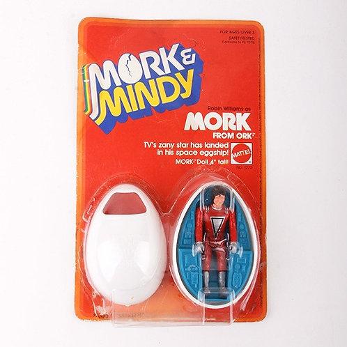 Mork from Ork - Vintage 1979 Mork & Mindy - Action Figure - Mattel