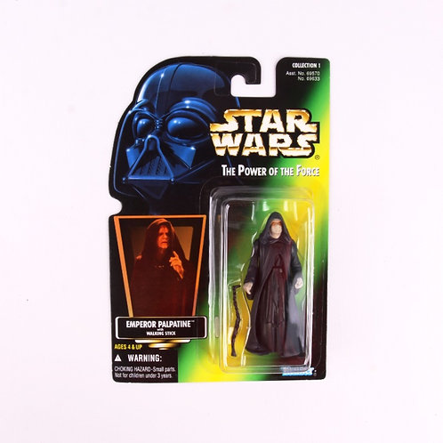 Emperor Palpatine - Classic 1996 Star Wars Power of the Force - Action Figure
