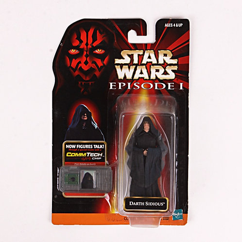 Darth Sidious - Classic 1998 Star Wars The Phantom Menace - Action Figure