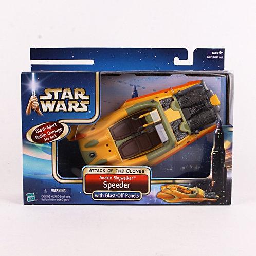 Anakin Skywalker Speeder - Modern 2002 Star Wars Attack of the Clones - Vehicle