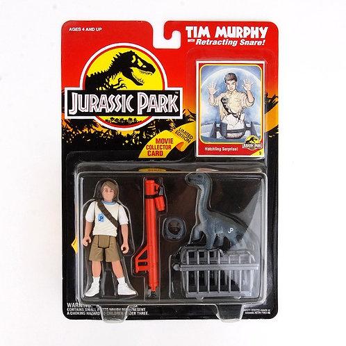 Tim Murphy - Classic 1993 Jurassic Park Action Figure W1 - Kenner