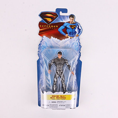 Superman Space Suit - Modern 2006 Superman Returns - Action Figure - Mattel / DC