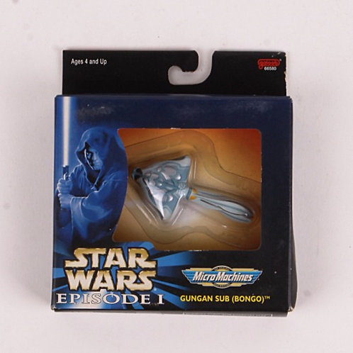 Gungan Sub (Bongo) - Classic 1999 Star Wars Episode 1 - Micro Machine - Galoob