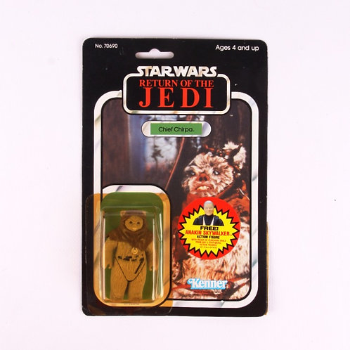 Chief Chirpa - Vintage 1983 Star Wars Return of the Jedi - Action Figure