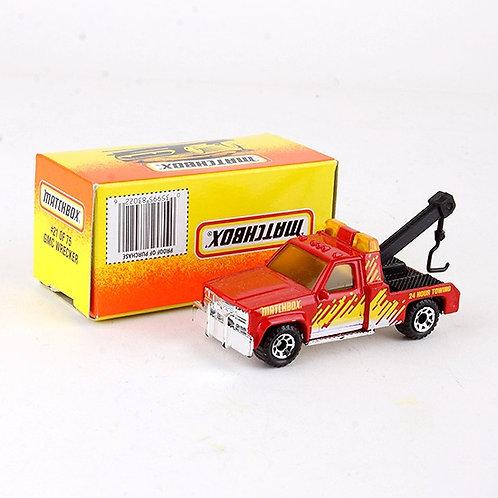 GMC Wrecker #21 - Classic 1996 Die Cast Vehicle - Matchbox