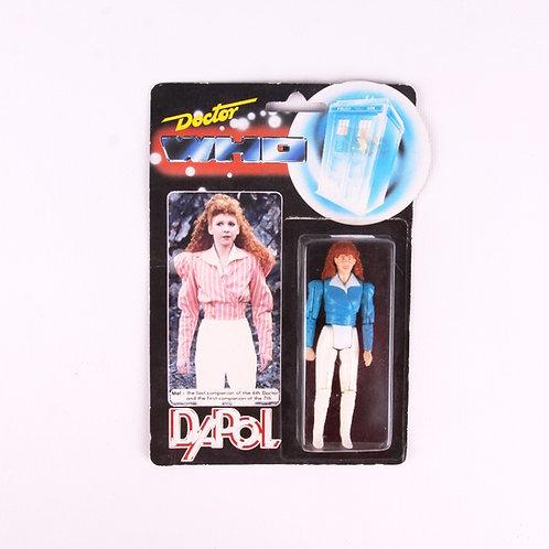Mel - Blue Shirt - Vintage 1987 Doctor Who - Dapol Action Figure