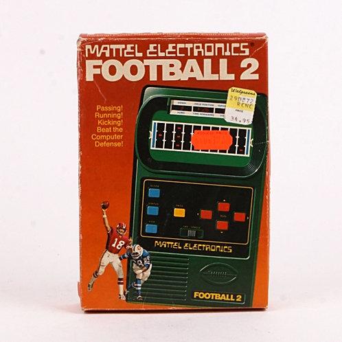 Football 2 - Vintage 1978 Electronic Handheld Sports Game - Mattel