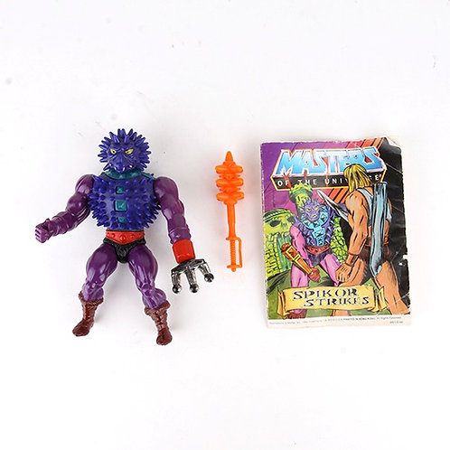 Spikor - Vintage 1985 Masters of the Universe - Action Figure - Mattel