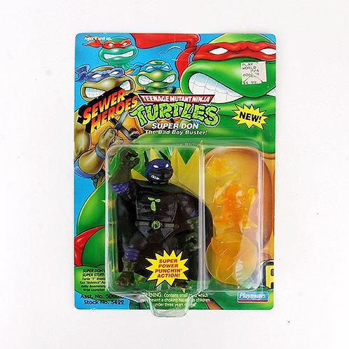 Super Don - 1993 Teenage Mutant Ninja Turtles Sewer Heroes Figure - Playmates 1
