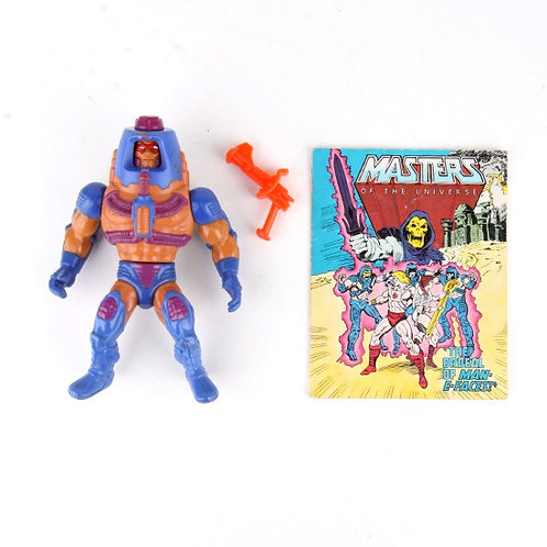 Man-E-Faces - Vintage 1983 Masters of the Universe - Action Figure - Mattel