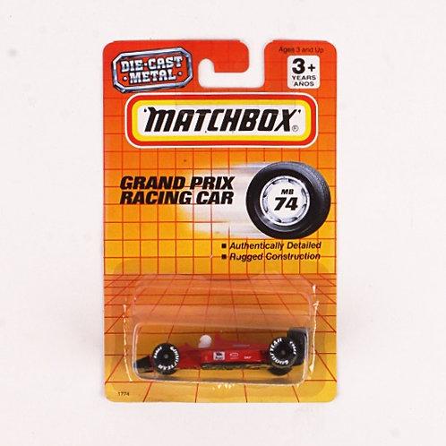 Grand Prix Racing Car #74 - Classic 1993 Matchbox - Die Cast Vehicle