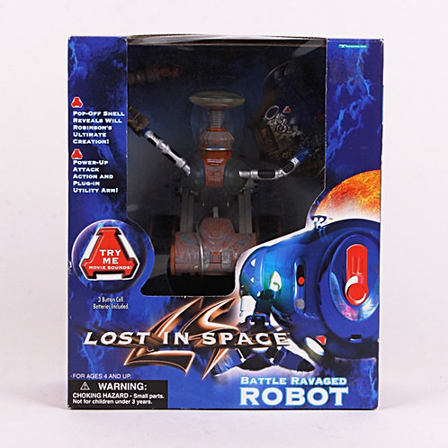 Battle Ravaged Robot - 1997 Lost in Space - Trendmasters Action Figure