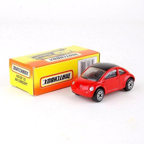 VW Concept #49 - Classic 1996 Die Cast Vehicle - Matchbox