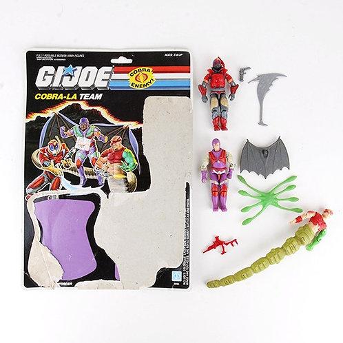 Cobra-La Team - Vintage 1987 G.I. Joe Action Figure 3 Pack - Hasbro