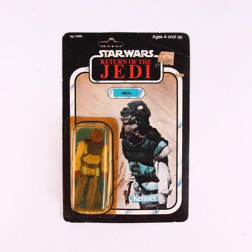 Nikto - Vintage 1983 Star Wars Return of the Jedi - Action Figure