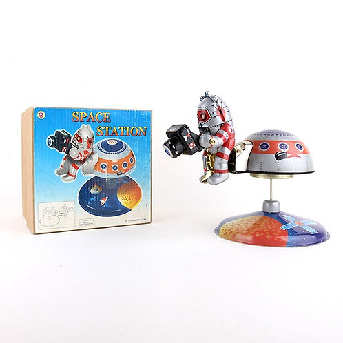 Mars-10 Space Station - Classic Windup Tin Toy - OSH