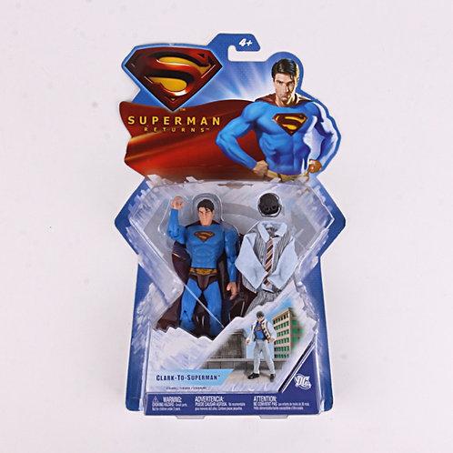 Clark to Superman - Modern 2006 Superman Returns - Action Figure - Mattel / DC