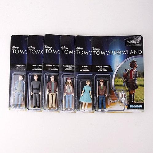 Complete Set - Modern 2015 Tomorrowland - Funko / ReAction Action Figures