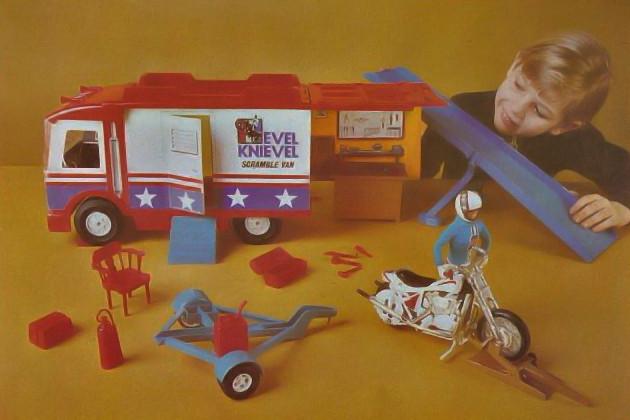 Evel Knievel Scramble Van