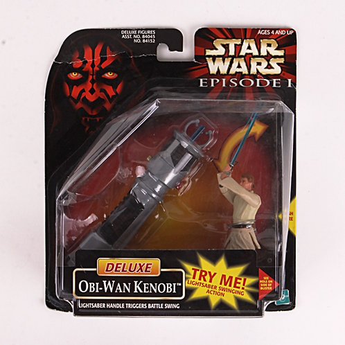 Deluxe Obi-Wan Kenobi - 1998 Star Wars The Phantom Menace - Action Figure