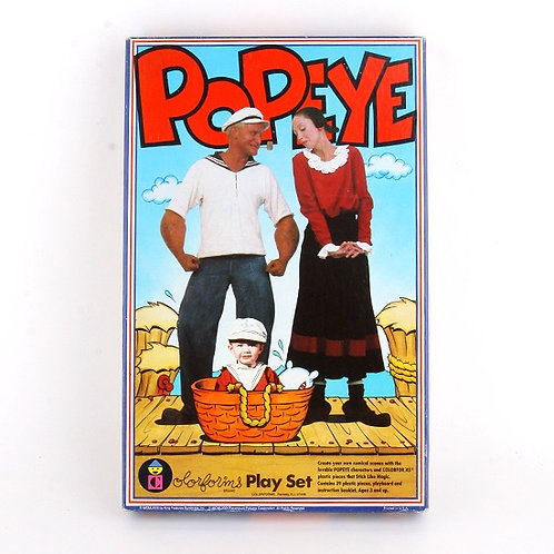 Popeye - Vintage 1980 Play Set - Colorforms